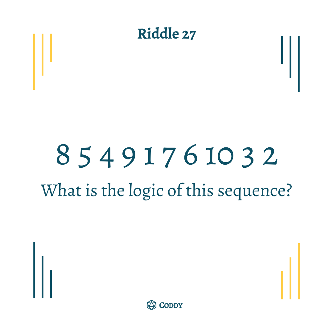 Riddle 27