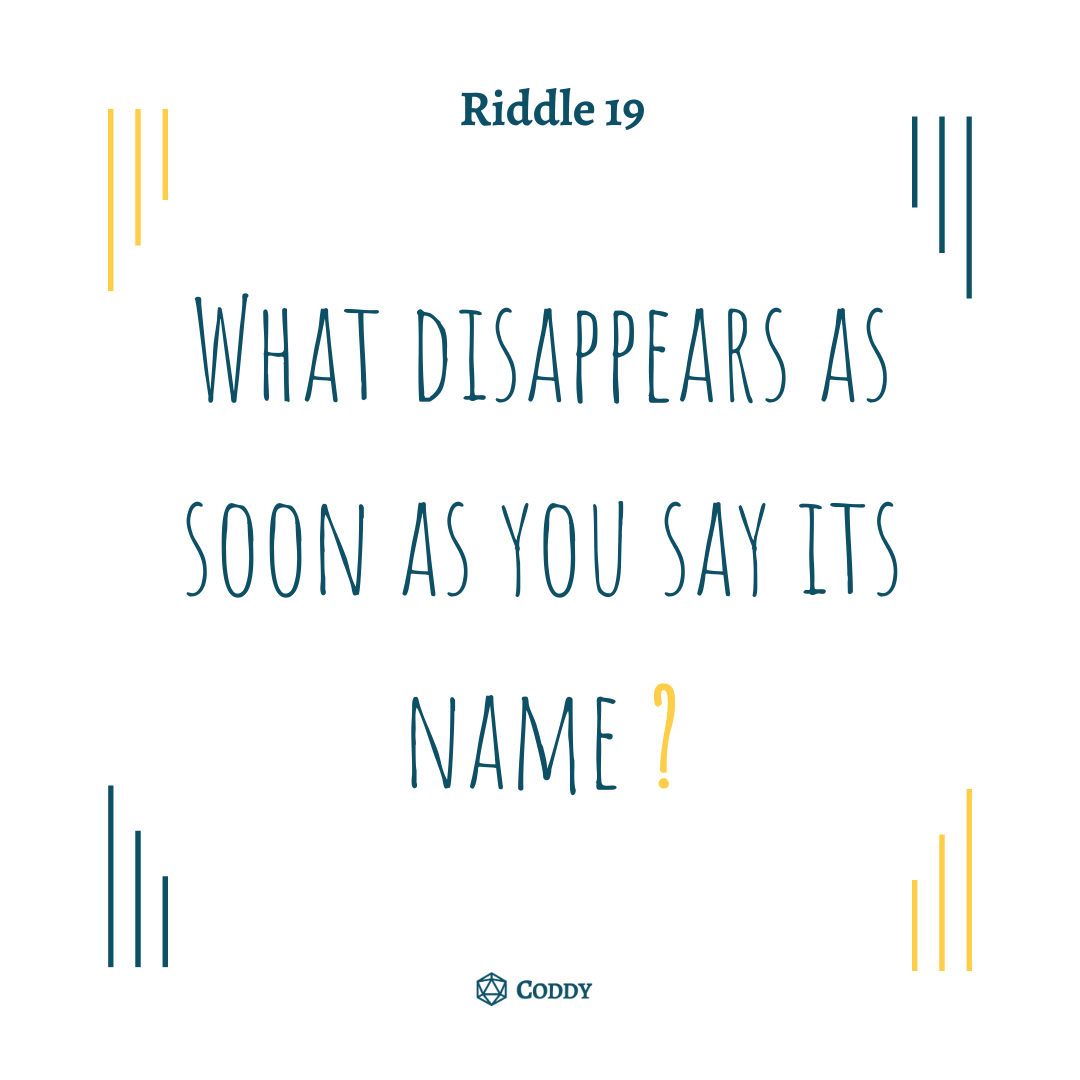Riddle 19