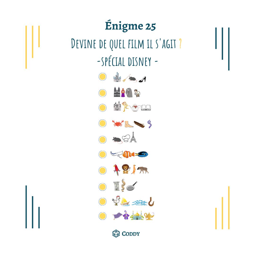 Énigme 25
