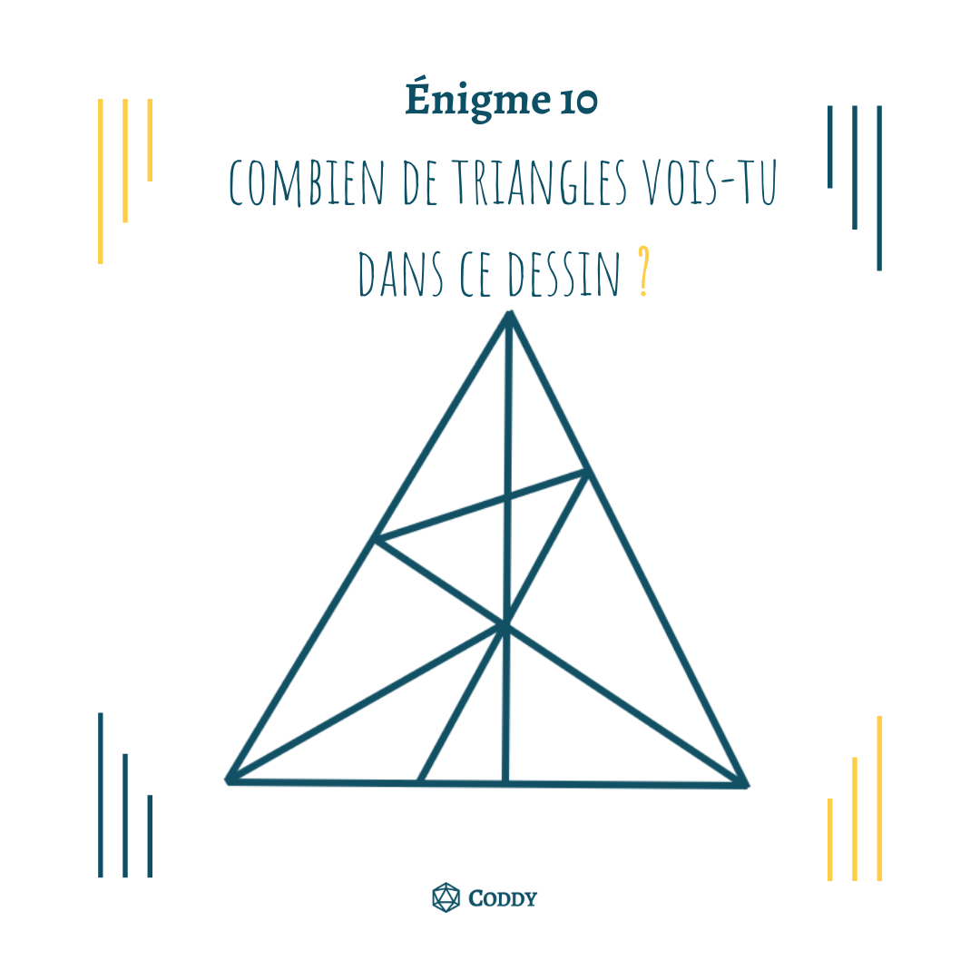 Énigme 10 - Triangles?