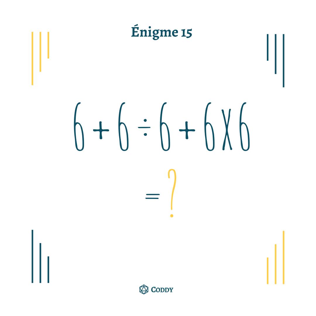 Énigme 15