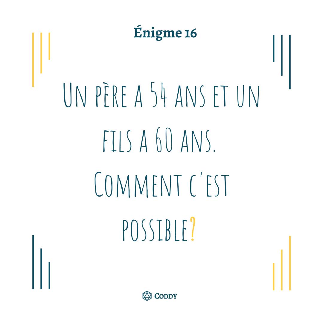 Énigme 16