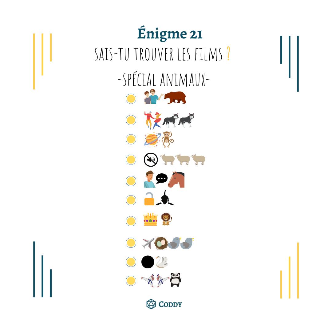 Énigme 21