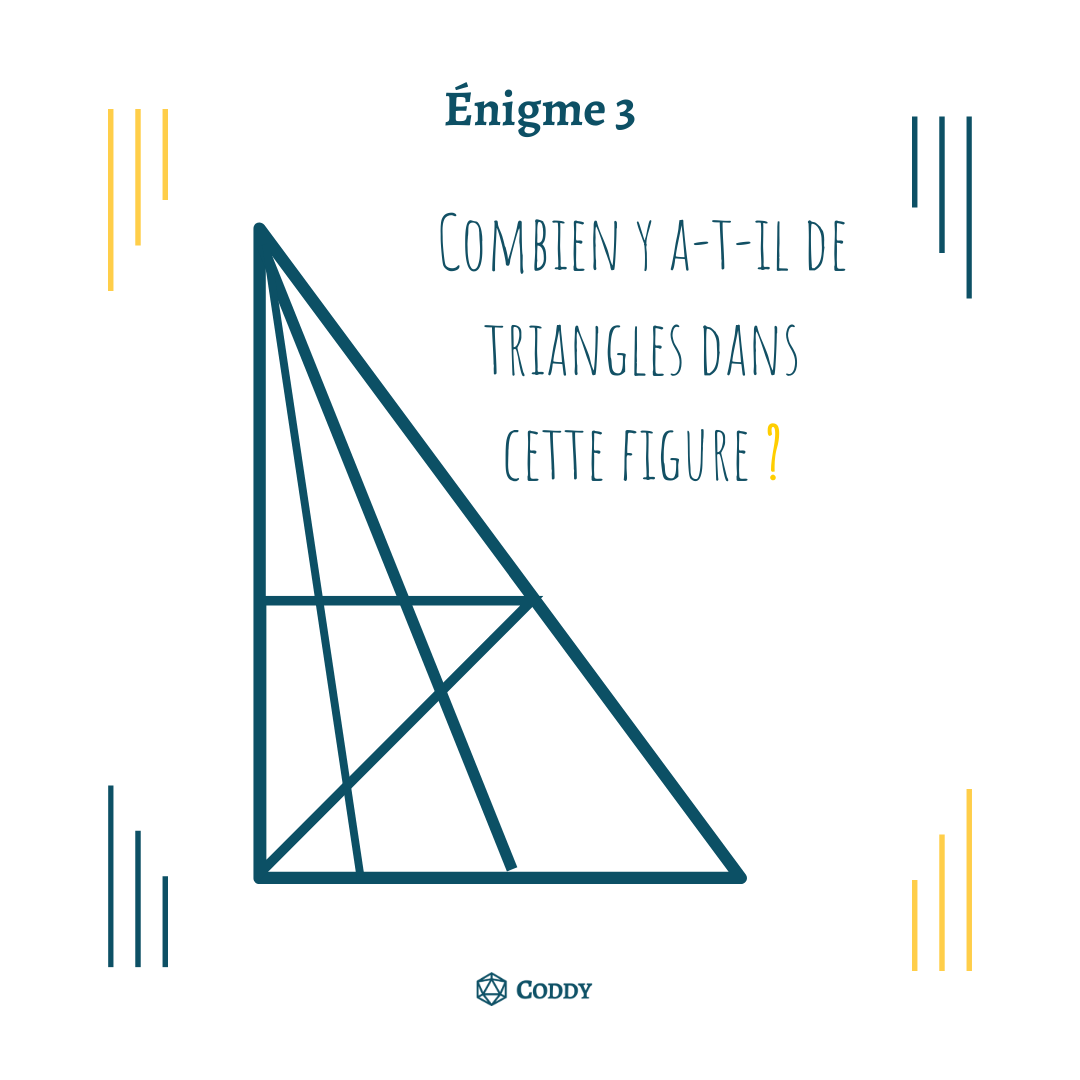 Énigme 3 - Triangles