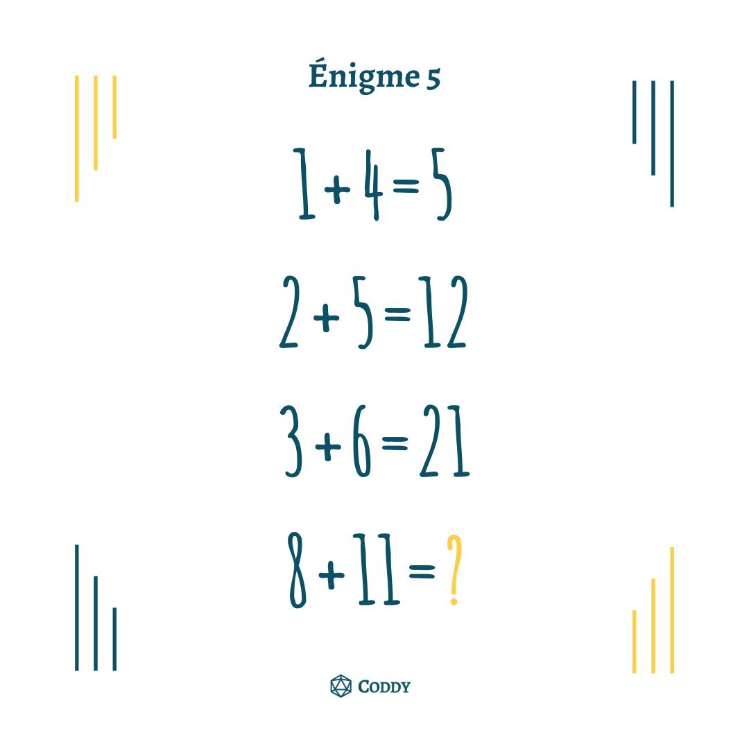 Énigme 5